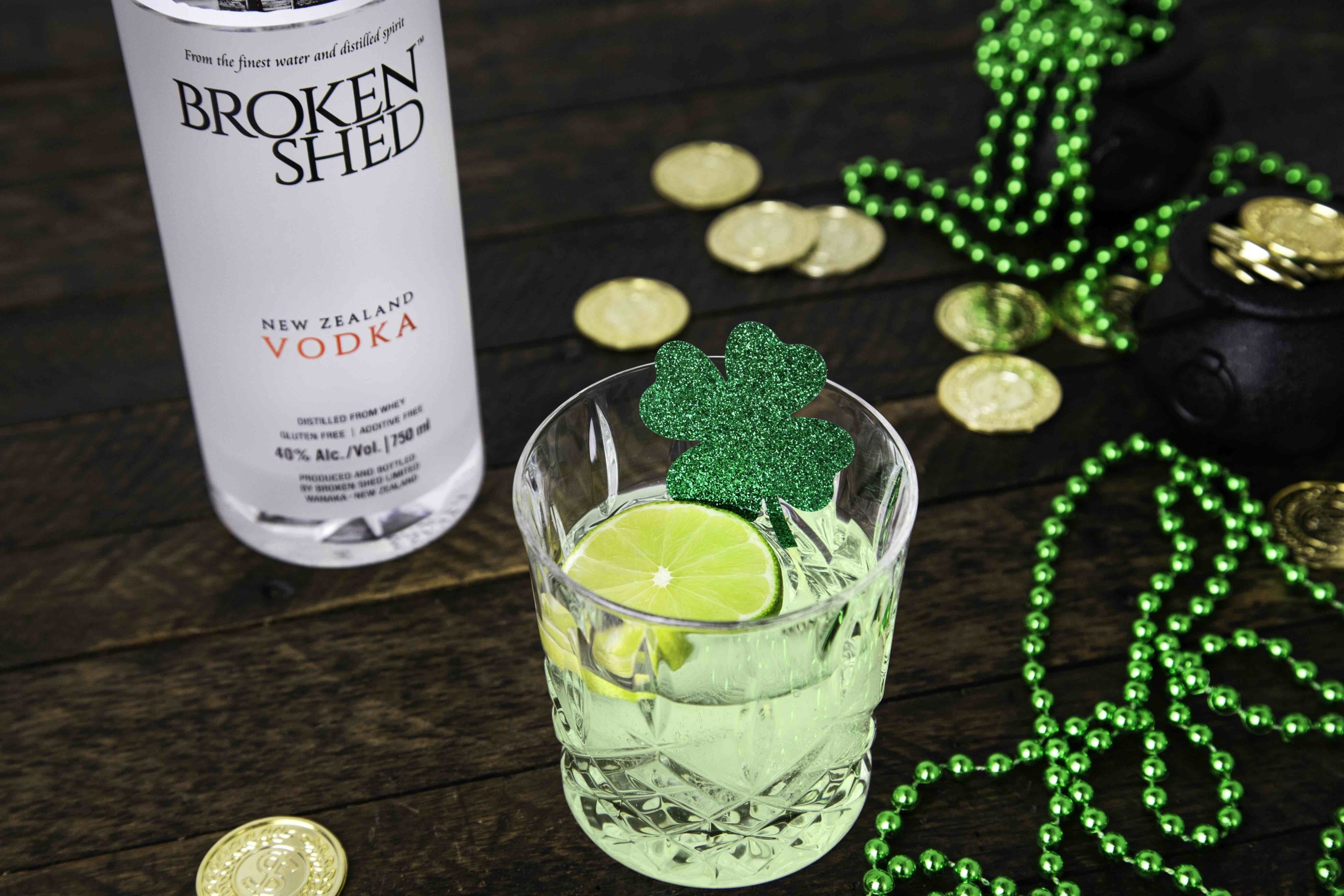 This Vodka Cocktail Is One Of the St Patrick's Day Cocktail Recipes For Home Entertaining