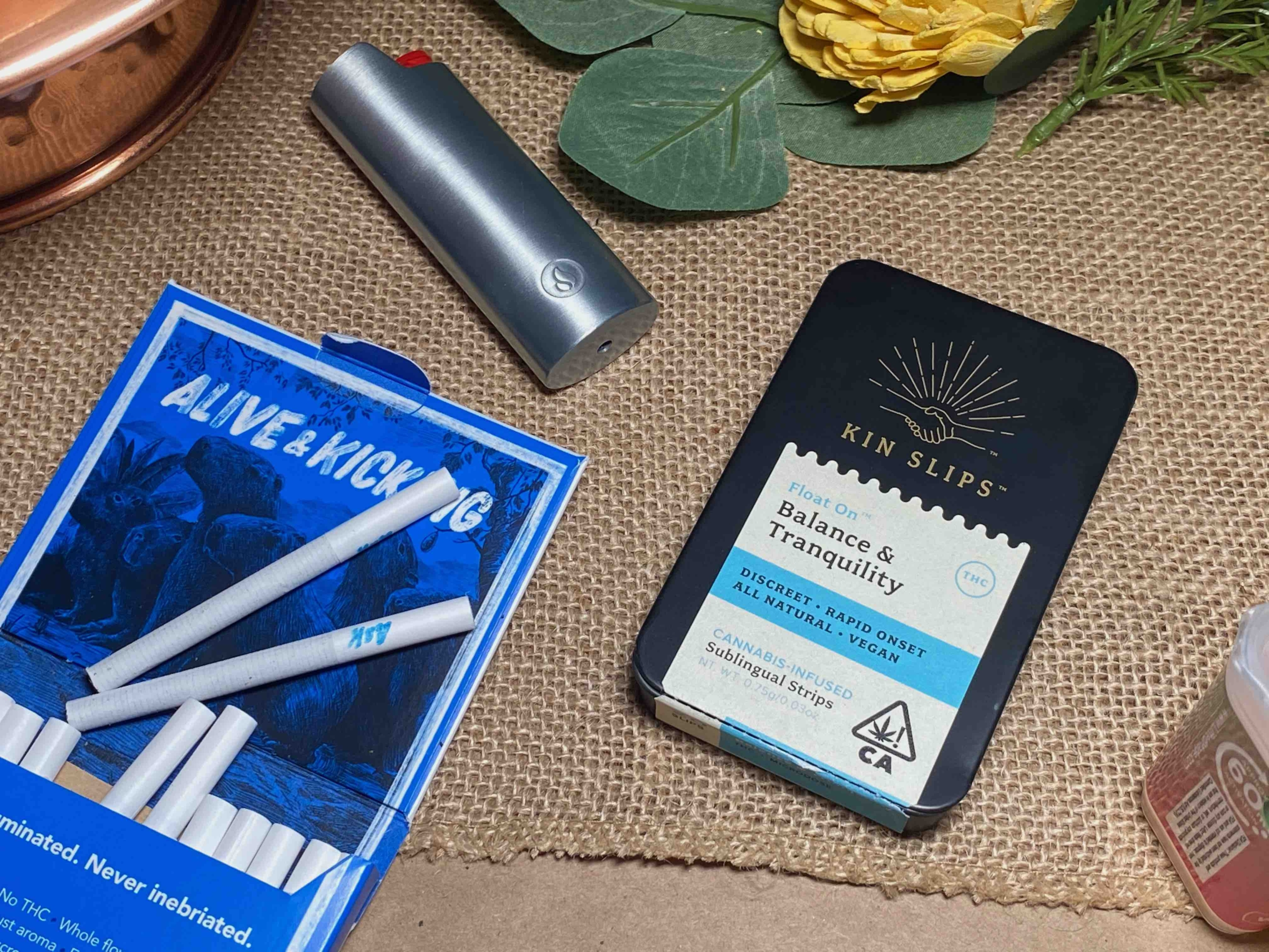 Kin Slips and Alive & Kicking To Enhance Your Cannabis Experience