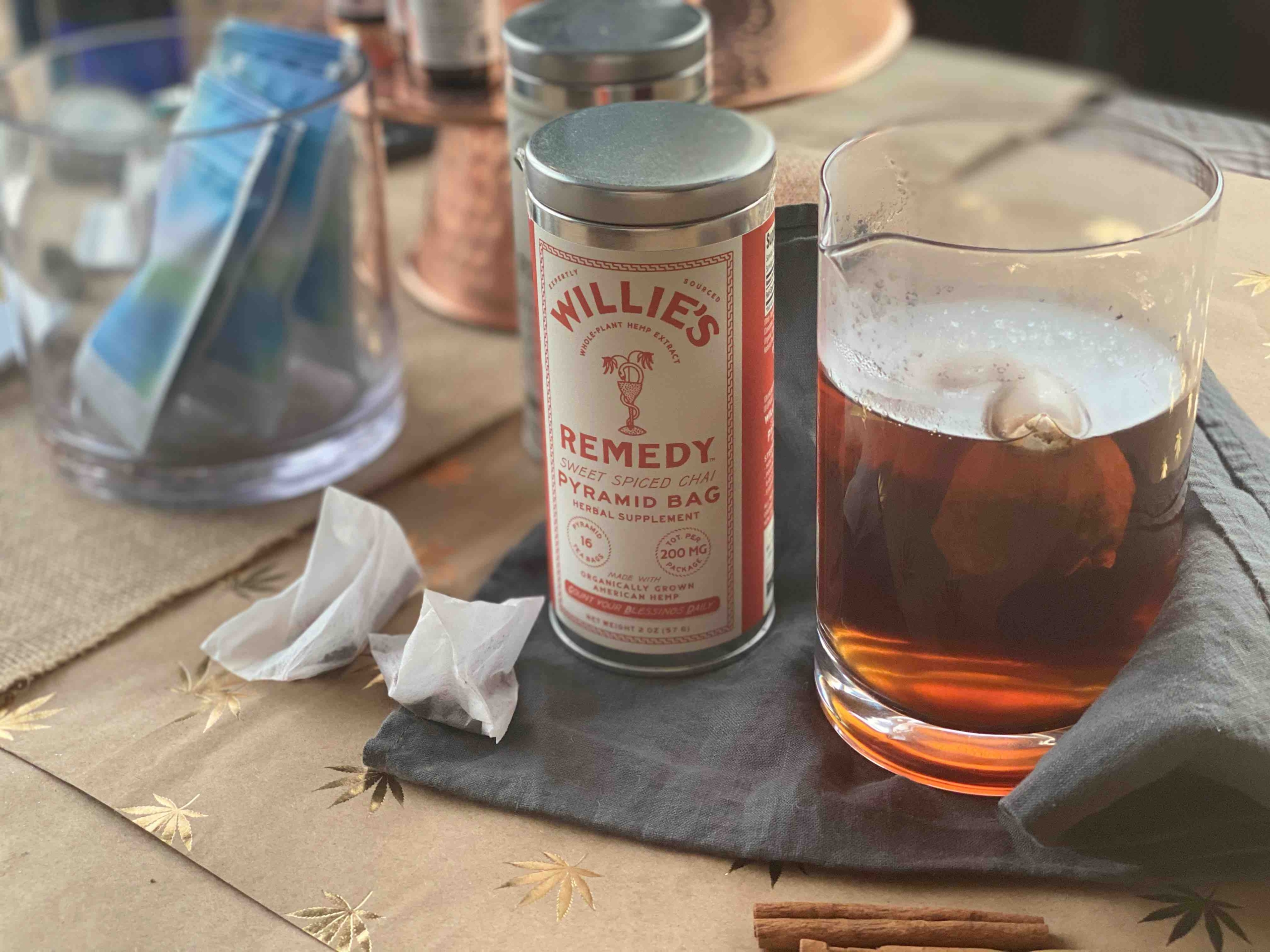 Willie's Remedy Tea To Enhance Your Cannabis Experience