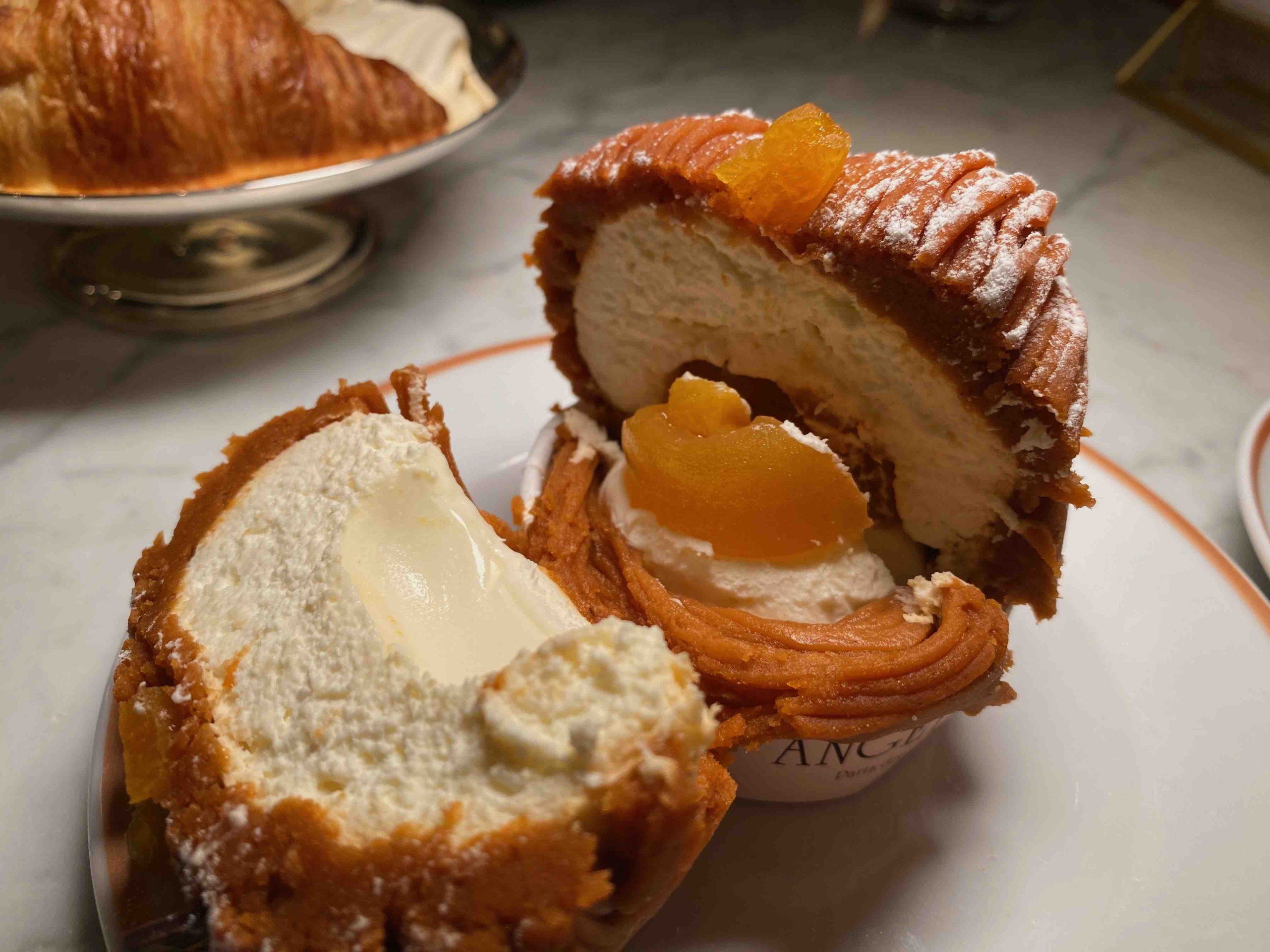 Mont-Blanc Abricot Is The Best Dessert For Afternoon Tea In NYC