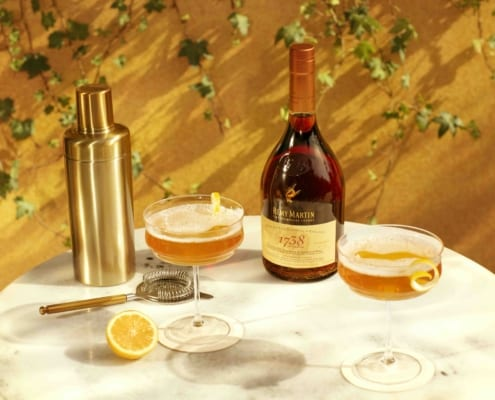 Celebrate National Cognac Day With a French 75 Cocktail Before Dinner Or After