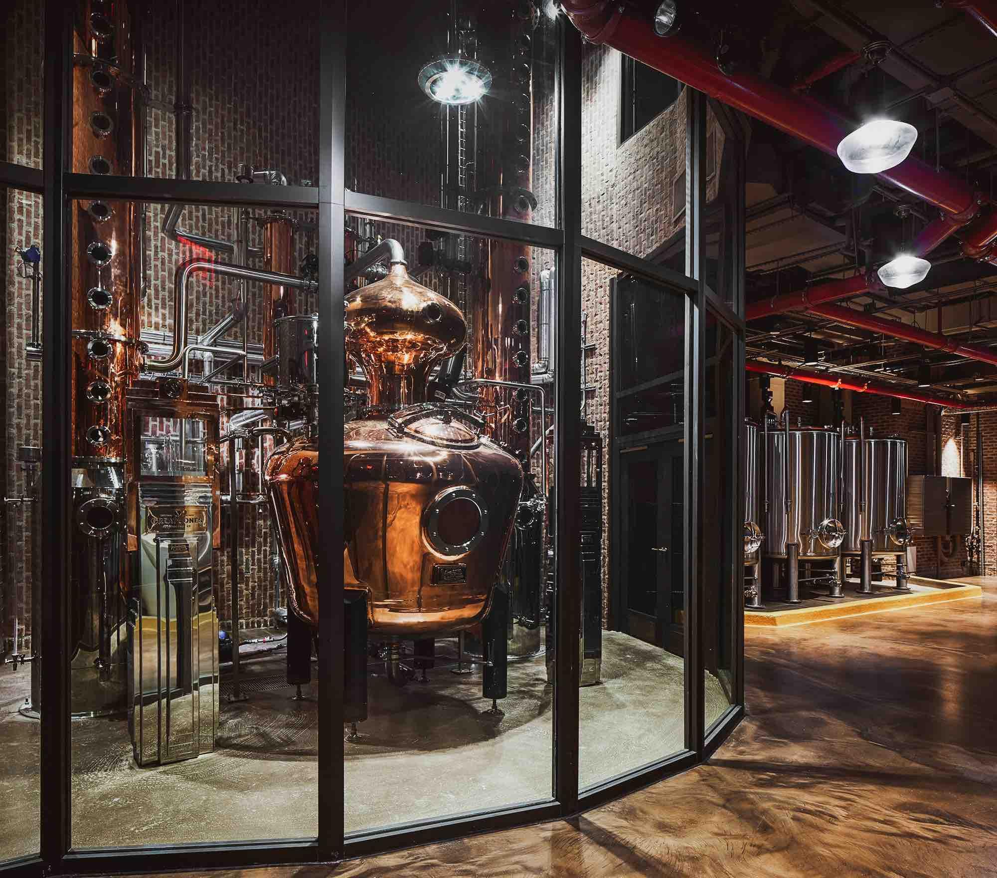 Great Jones Distilling Co Opens Whiskey Distillery in Manhattan's NoHo Neighborhood