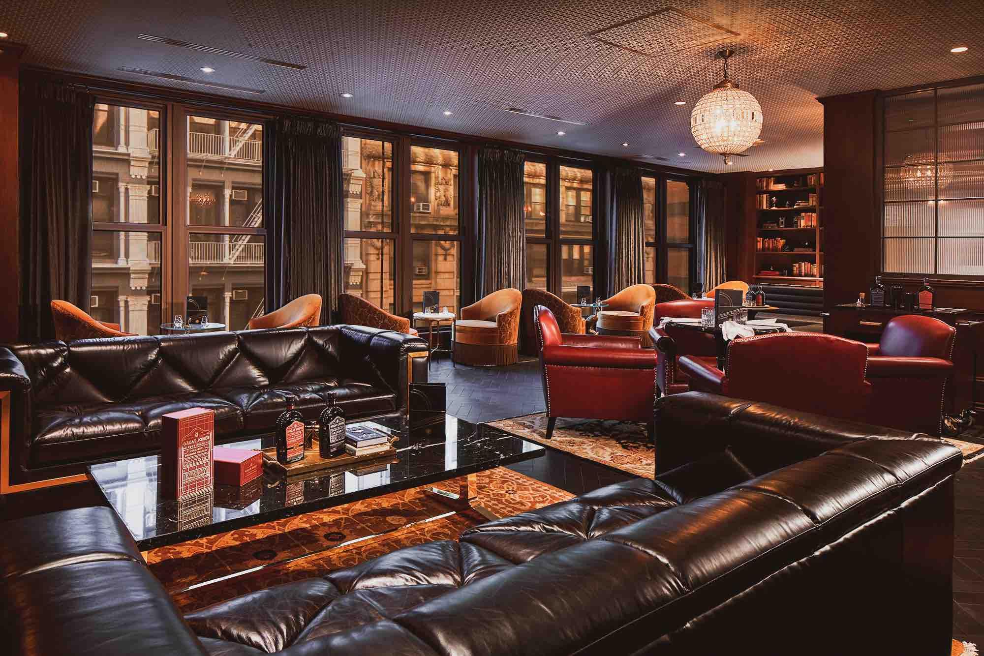 The Lounge At Great Jones Distilling Co Opens Whiskey Distillery in Manhattan's NoHo Neighborhood