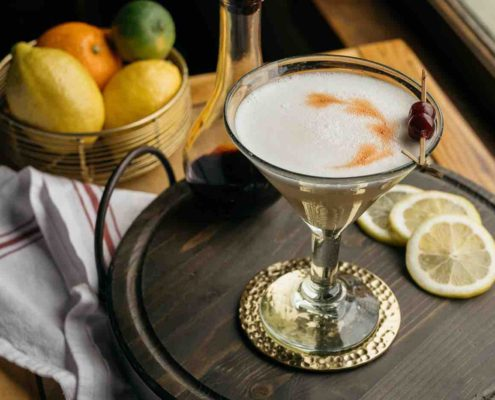 A Whiskey Sour Is A Delicious And Extremely Effective Whiskey Cocktail To Enjoy The Last Days of Summer