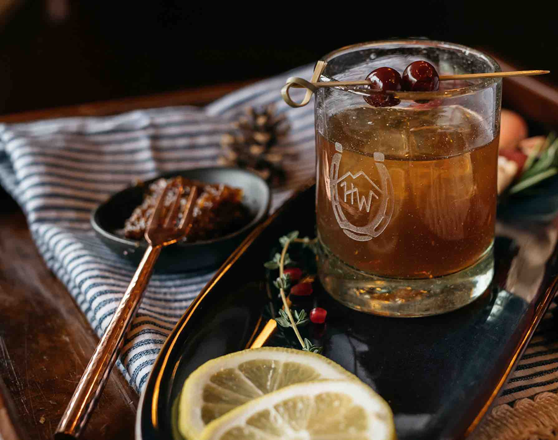 Angel Of Tombstone Is A Delicious And Extremely Effective Whiskey Cocktail To Enjoy The Last Days of Summer