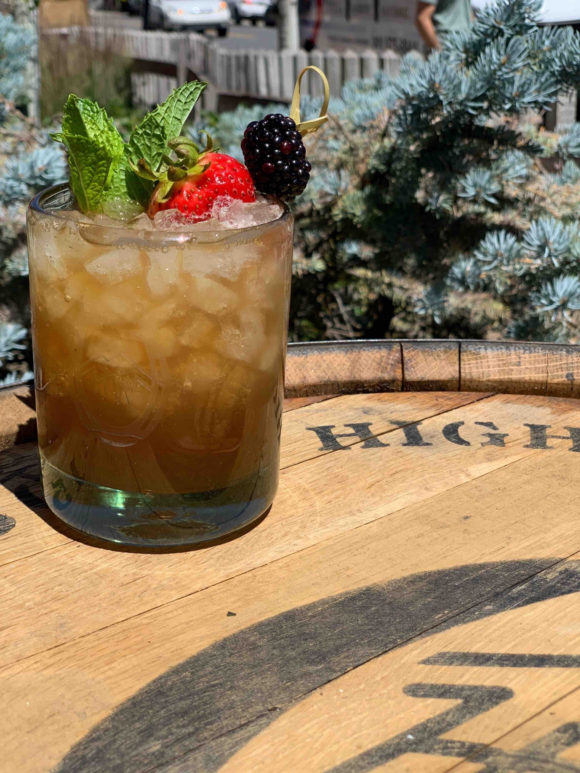 A High West Cobbler Is A Delicious And Extremely Effective Whiskey Drink To Enjoy The Last Days of Summer