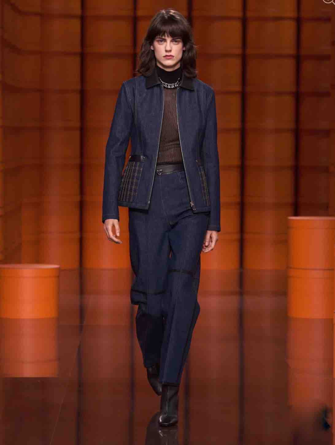 Hermes Raw Denim Is One Of The Style Trends To Shop For Fall 2021