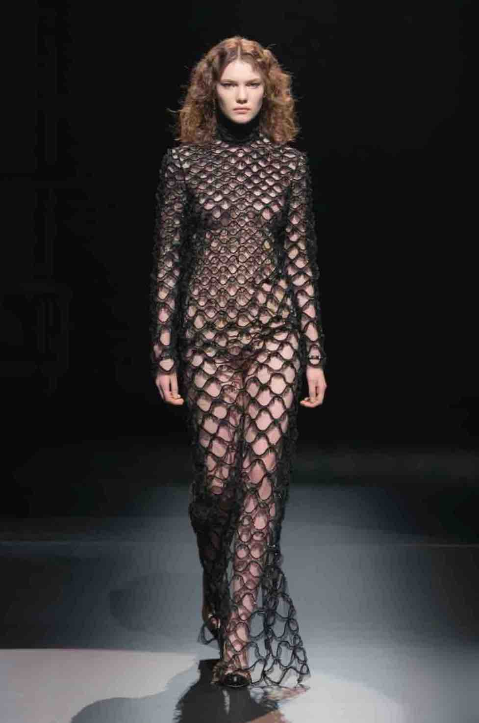Valentino Transparent Look Is One Of The Style Trends To Shop For Fall 2021
