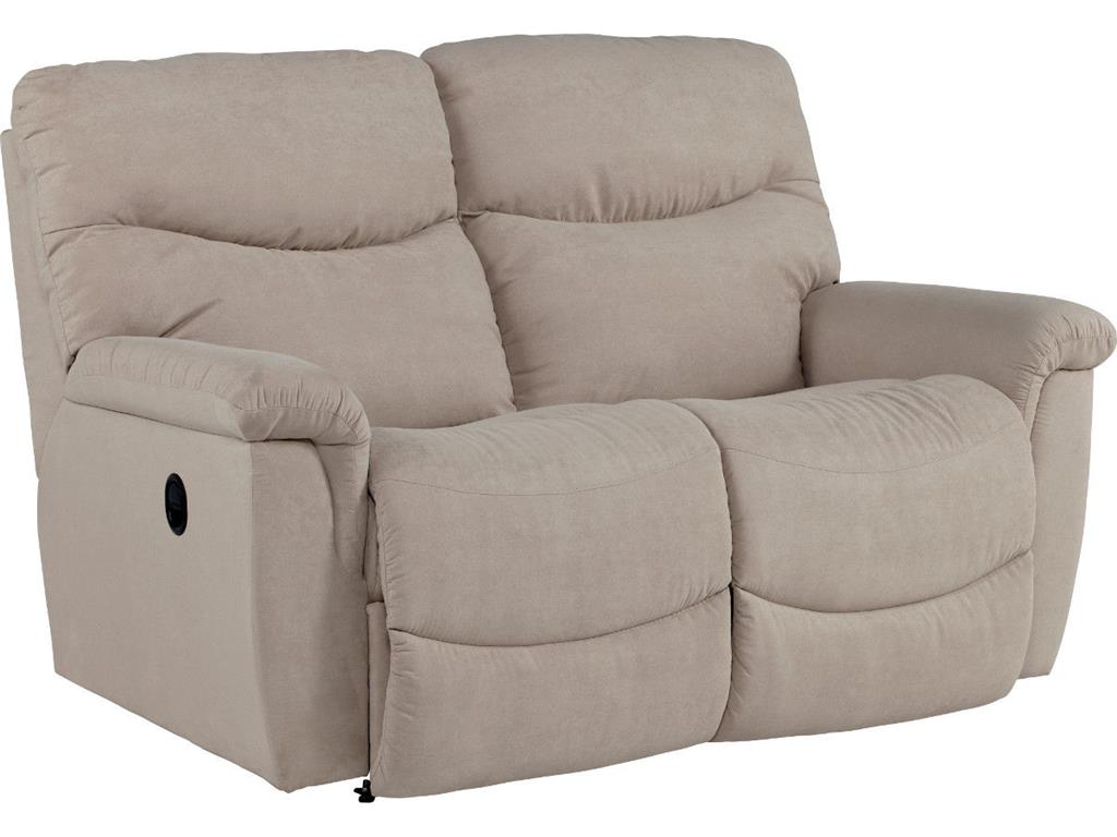 James Reclining Loveseat (No Console)