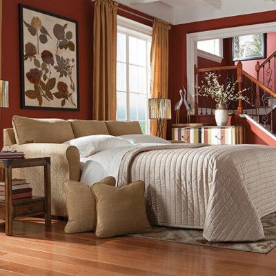 Leah La-Z-Boy Premier Supreme-Comfort Queen Sleep Sofa