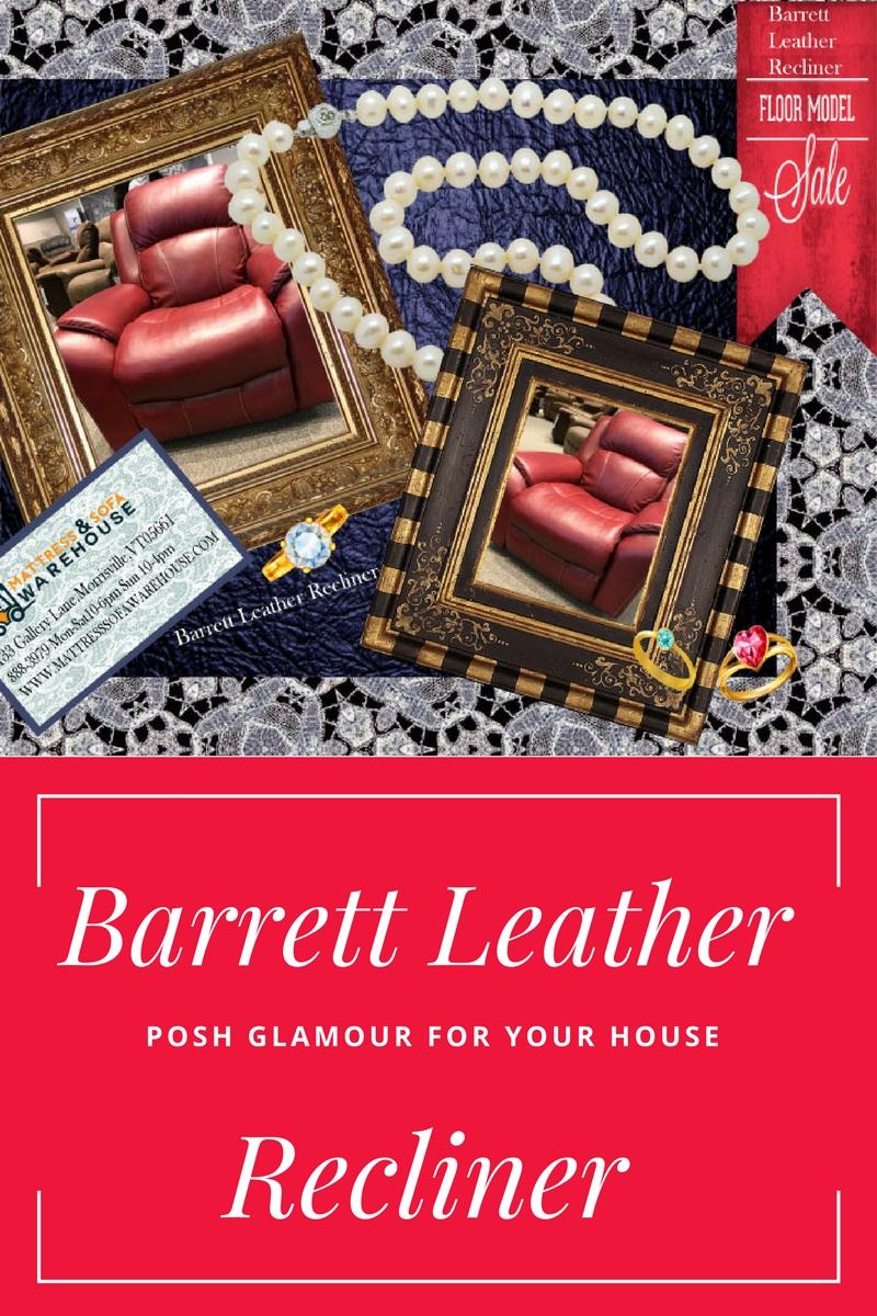 Barrett Leather chair