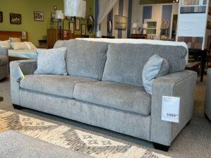 Altari Queen Sleeper Sofa in Alloy