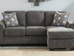 Brise Sofa Chaise in Slate