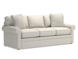 Collins Sofa in Flannel Top Secret