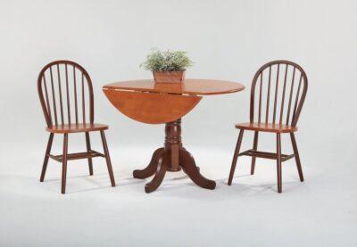 Amesbury Chair Drop Leaf Pedestal Table