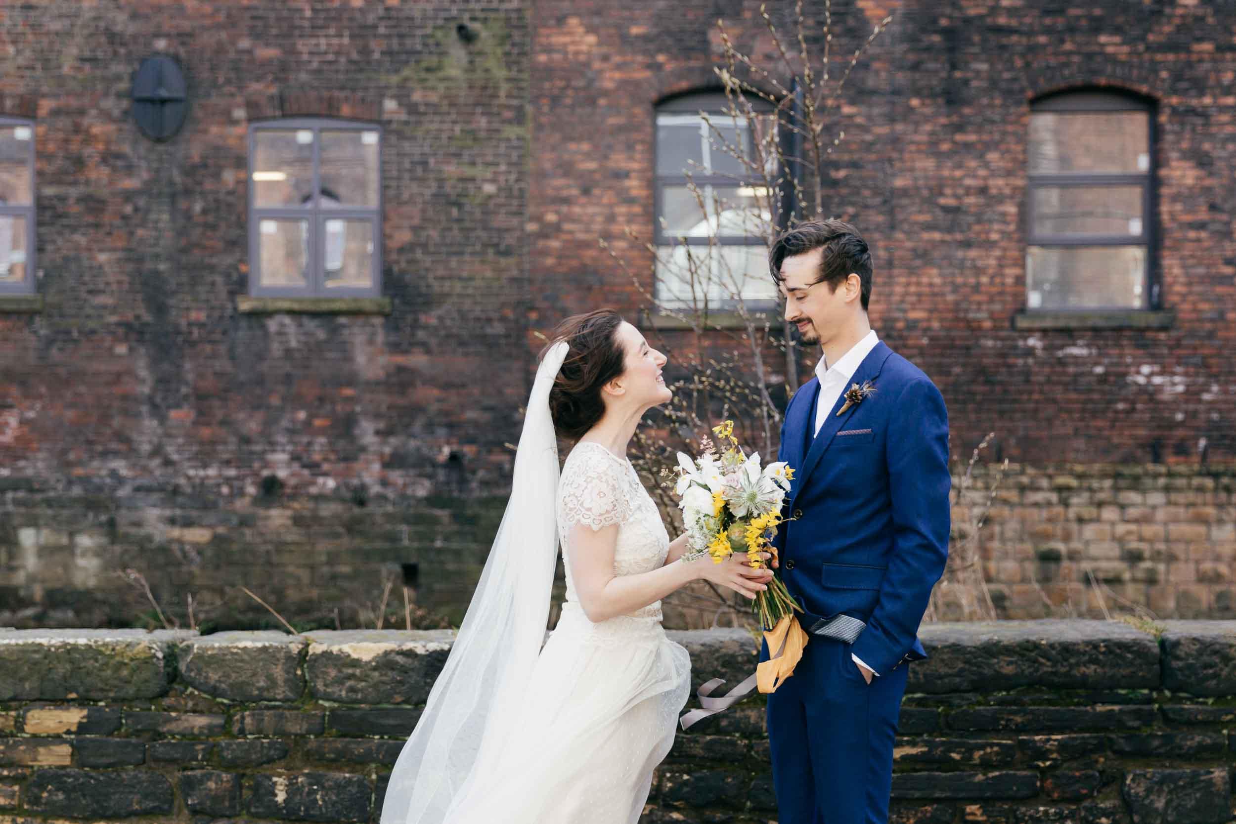 creative wedding photographers Amber Marie Photography