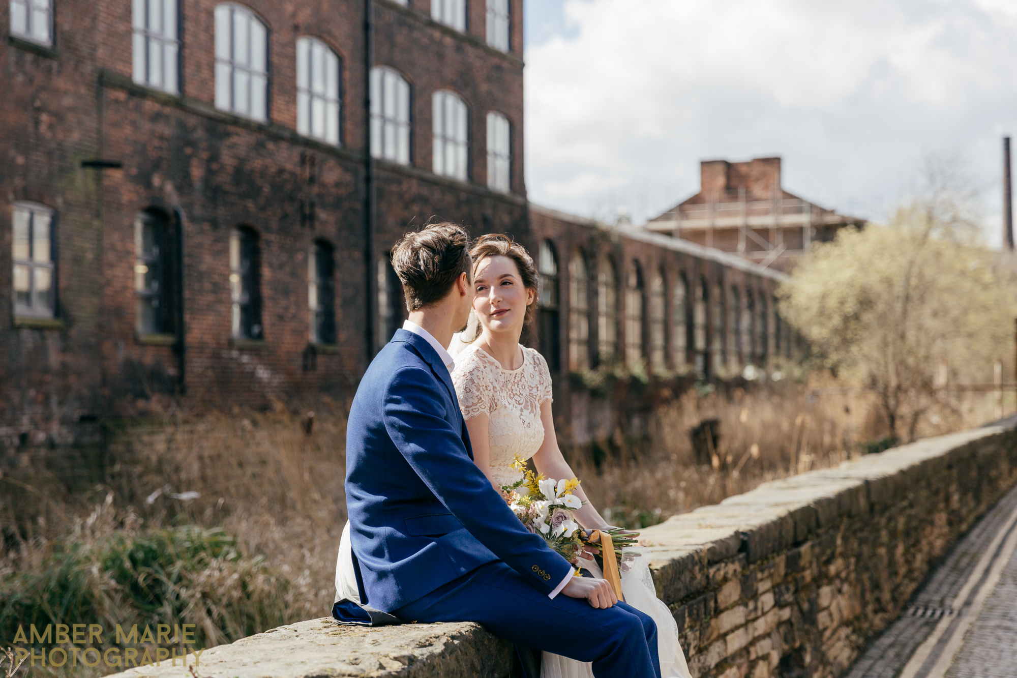 Creative and quirky wedding photography