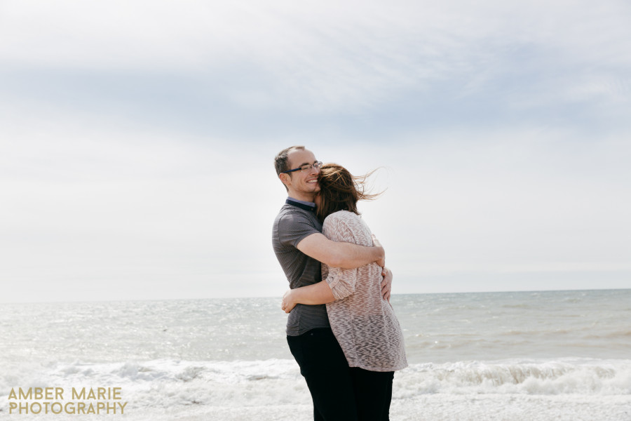Georgie & Grant's Relaxed Brighton Engagement Shoot