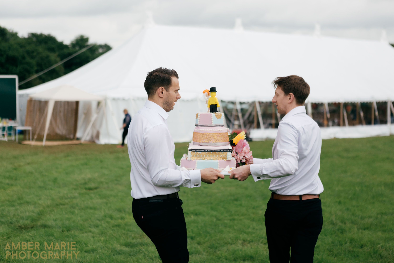 Creative natural wedding photography