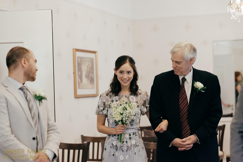 Creative wedding photographers Yorkshire artington house wedding photography