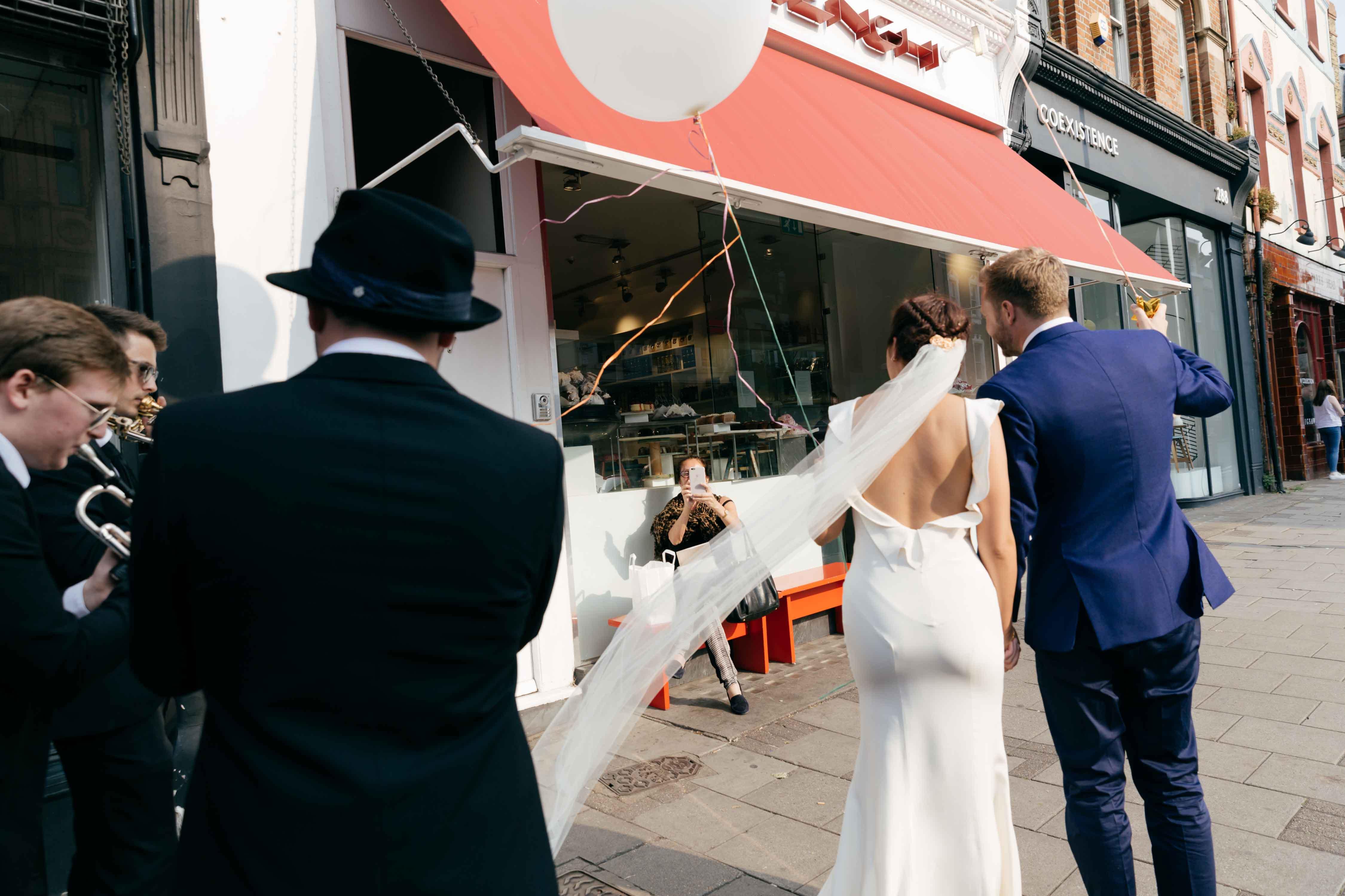 Islington town hall wedding photographer Creative wedding photographers leeds yorkshire
