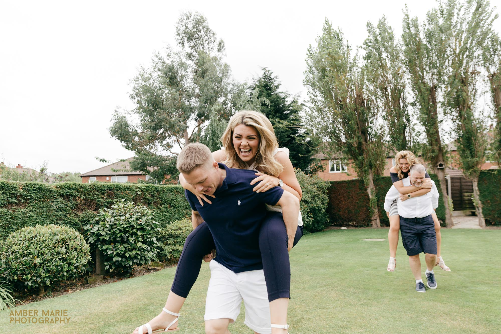 Fun Engagement Photography by Gloucestershire Wedding Photographer