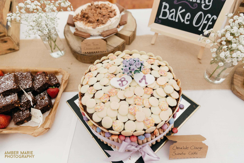 Wedding bake off by gloucestershire wedding photographer