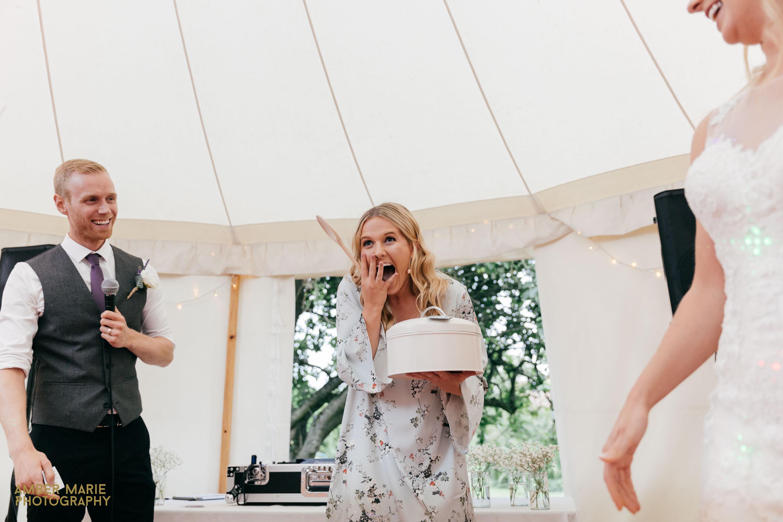 Natural wedding photograph Gloucestershire