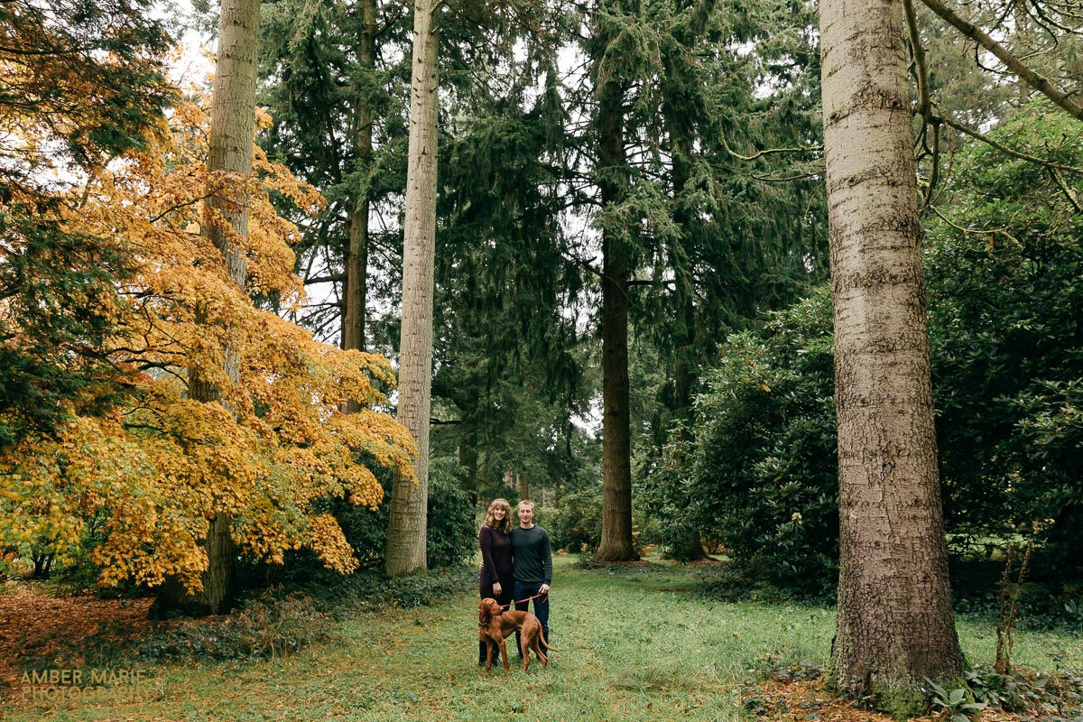 autum engagement photoshoot in the cotswolds