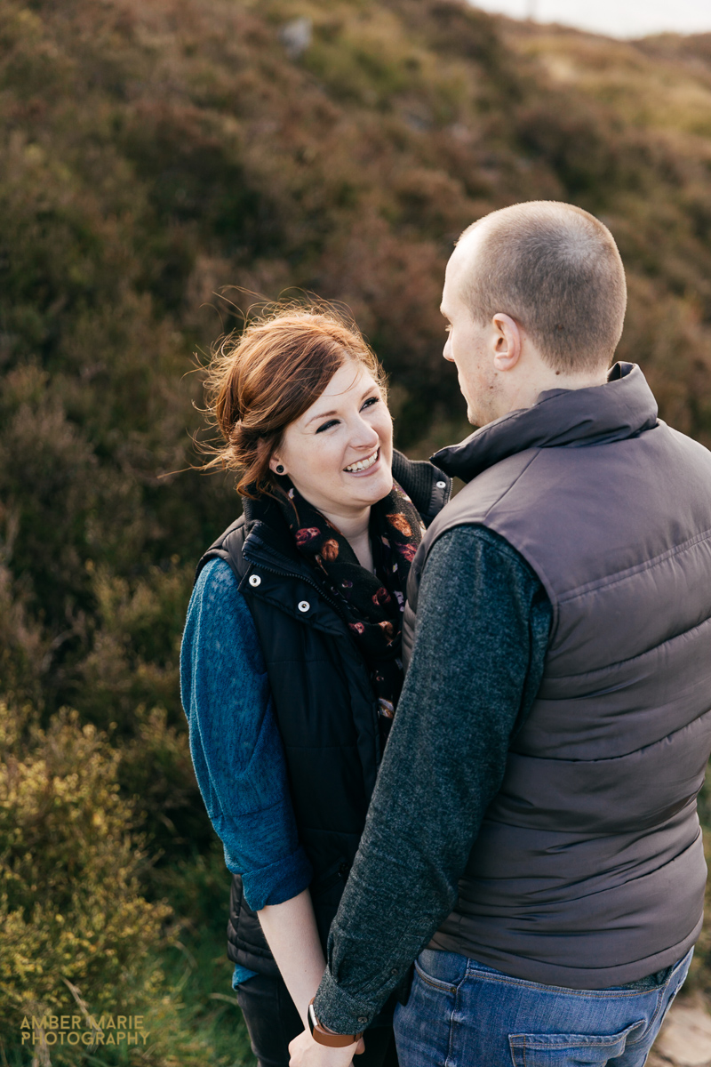 natural engagement photography by cotswold wedding photographer amber marie photography