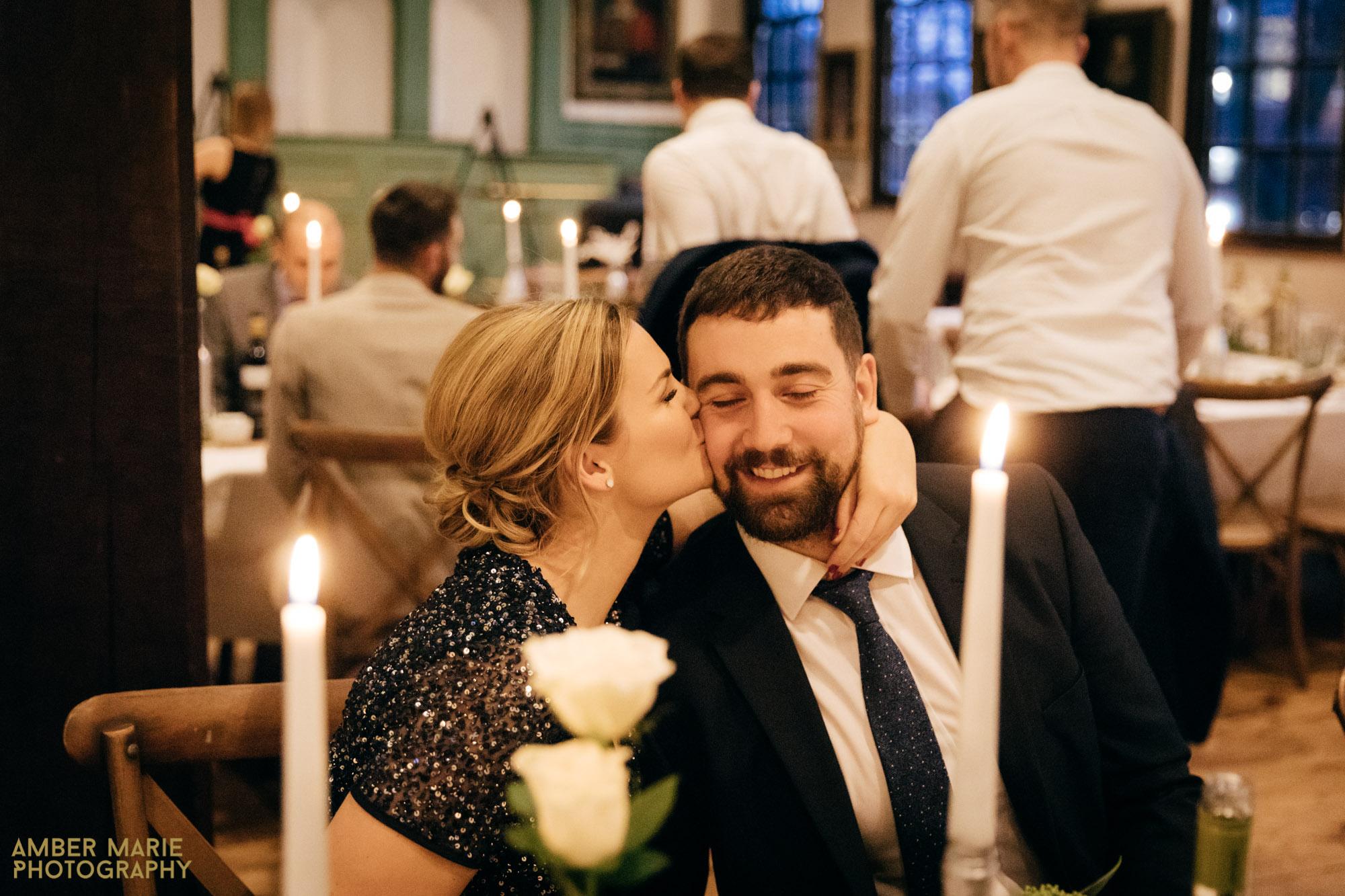 York Winter Wedding at Merchants Hall