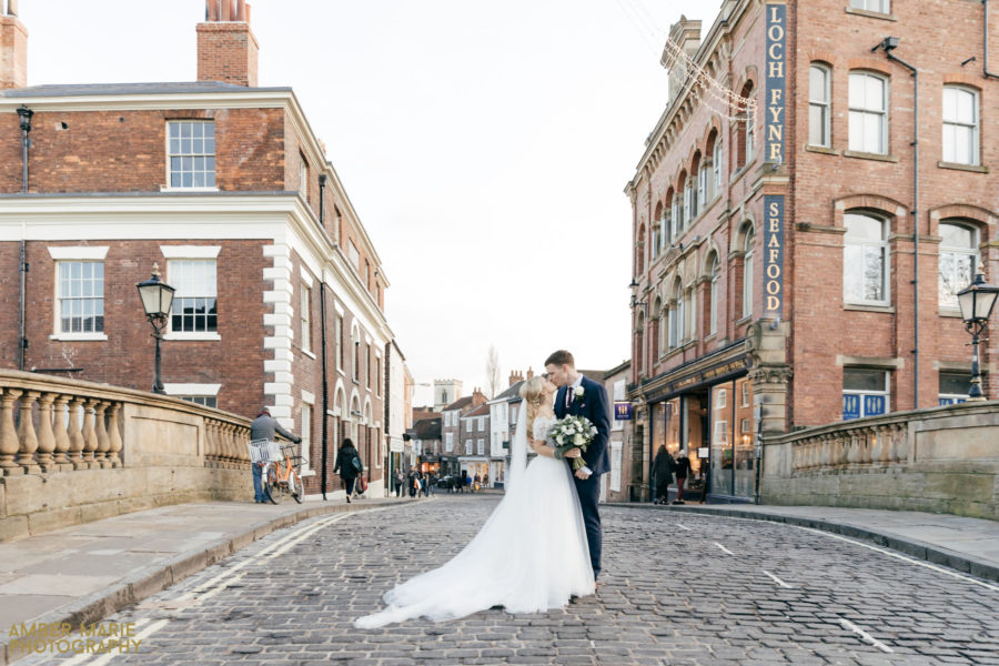 Rachel & Alex's York Winter Wedding