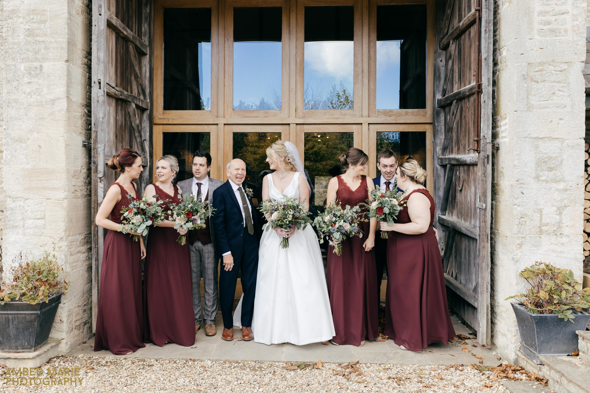 Stone Barn Wedding Wedding by Creative wedding photographer gloucestershire