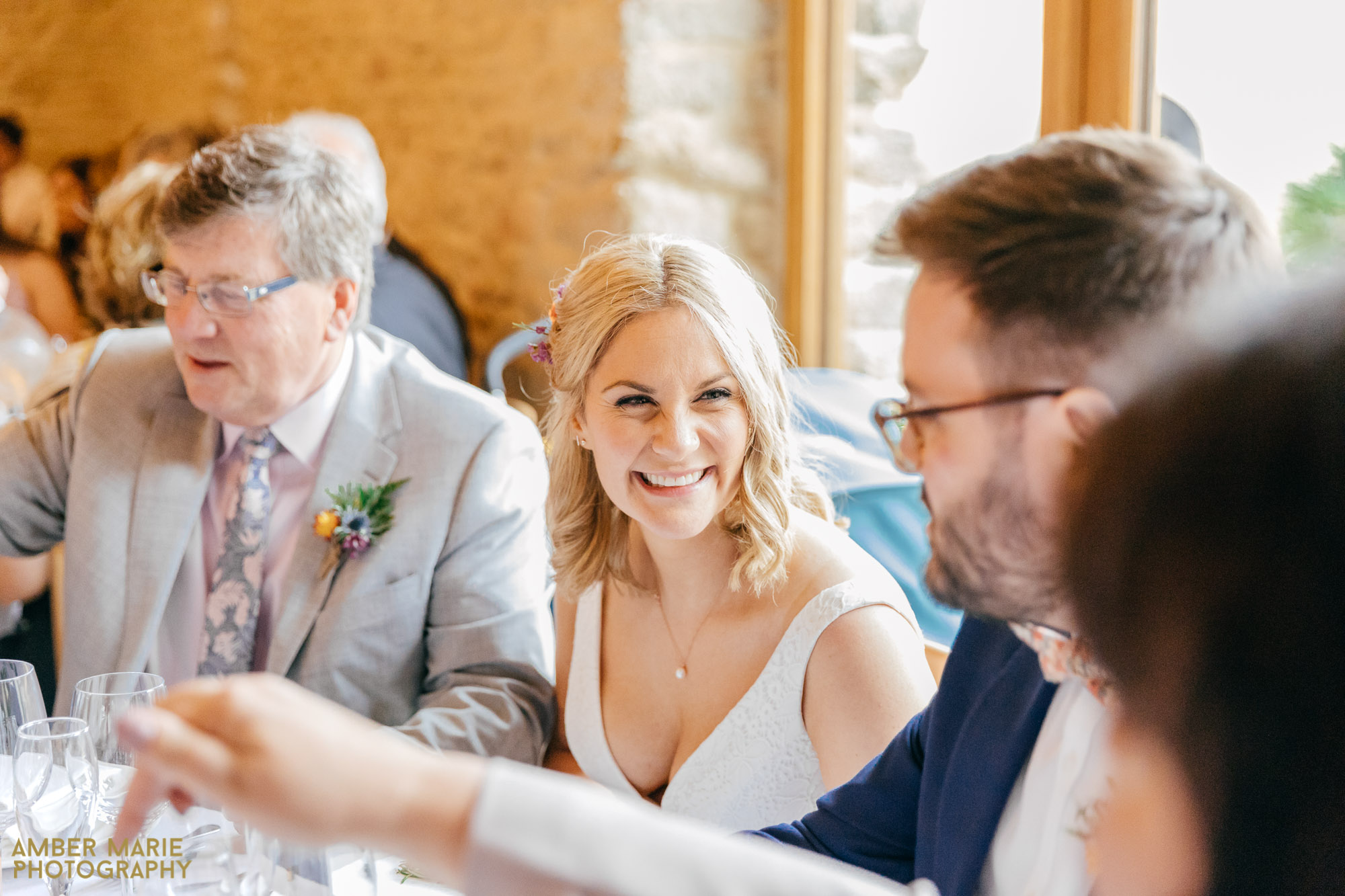 wedding photographer kingscote barn