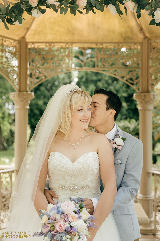 summer wedding Eastington park
