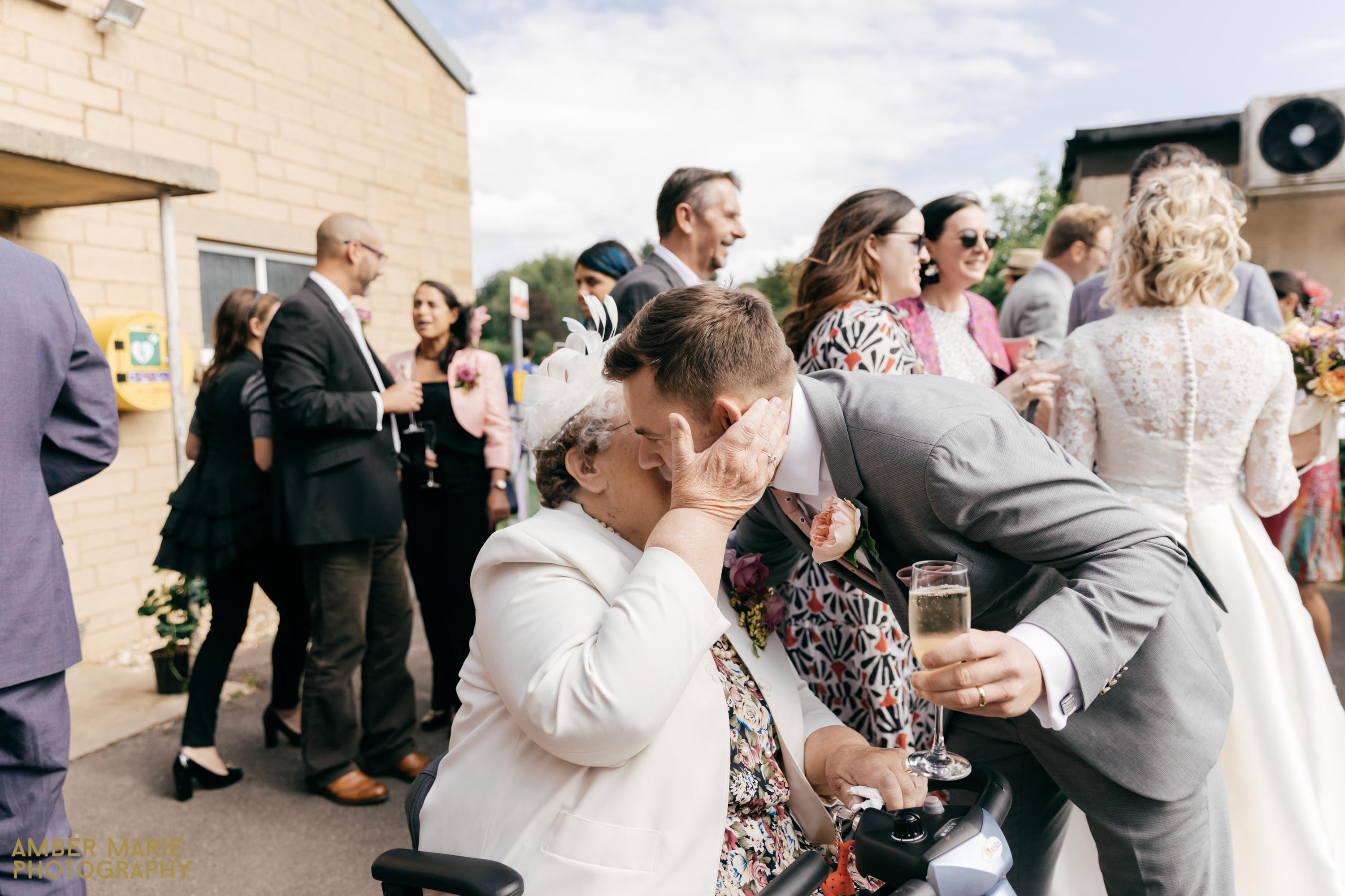 cotswolds village hall wedding photography