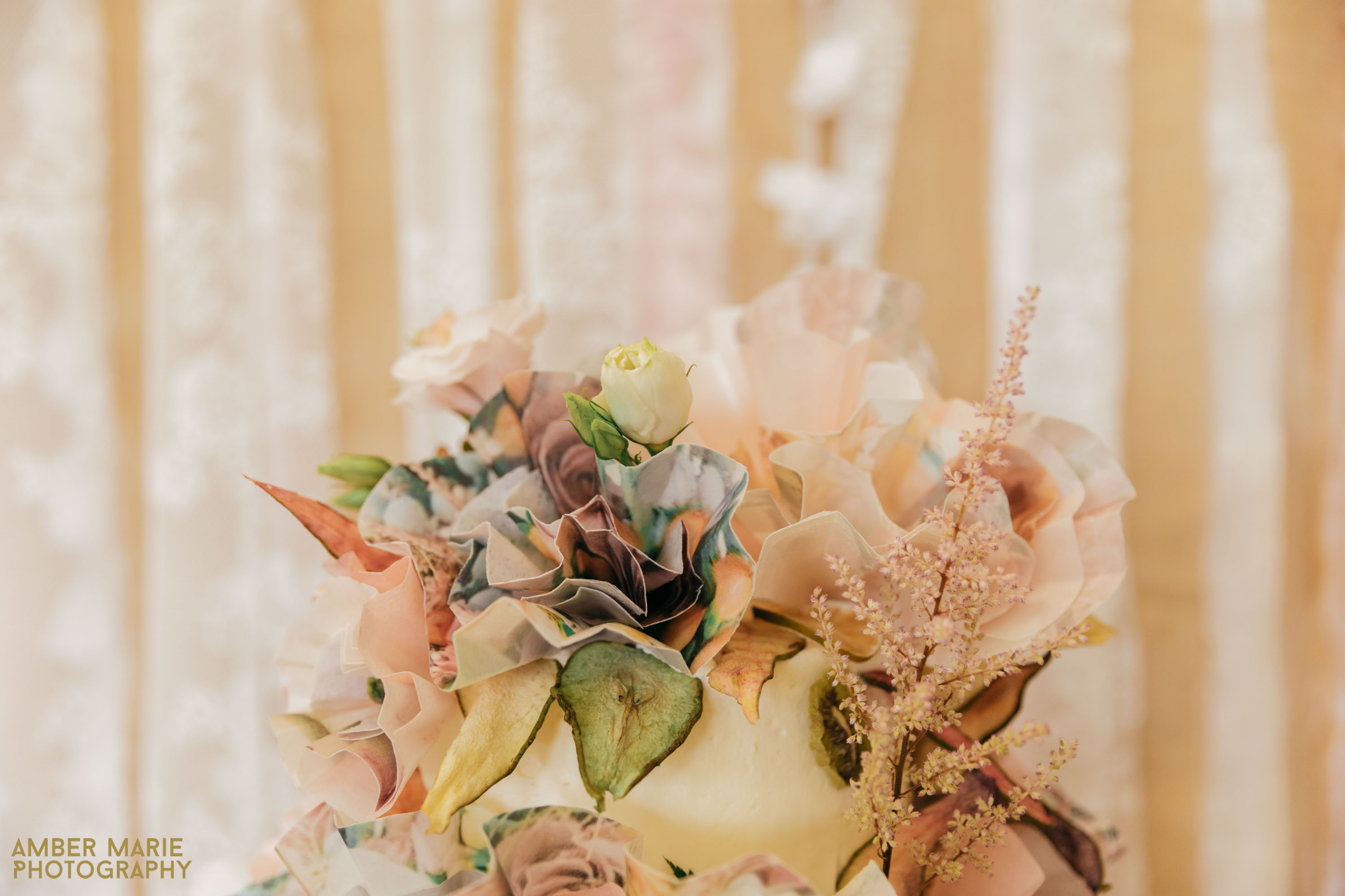 creative Wedding Cake by Helen Bakunowicz at The Bakemonger