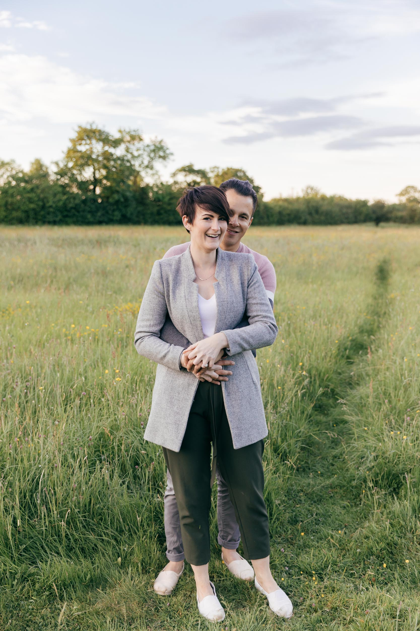 Couples portraits by wedding photographer gloucestershire