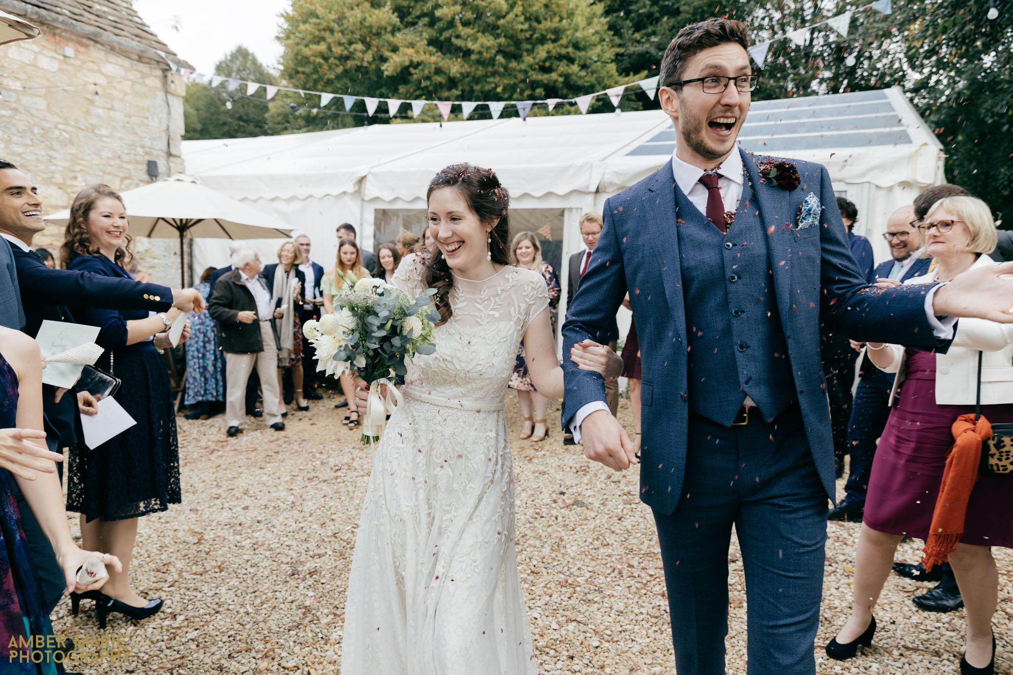 Owlpen Manor Wedding Photography by gloucestershire wedding photographer