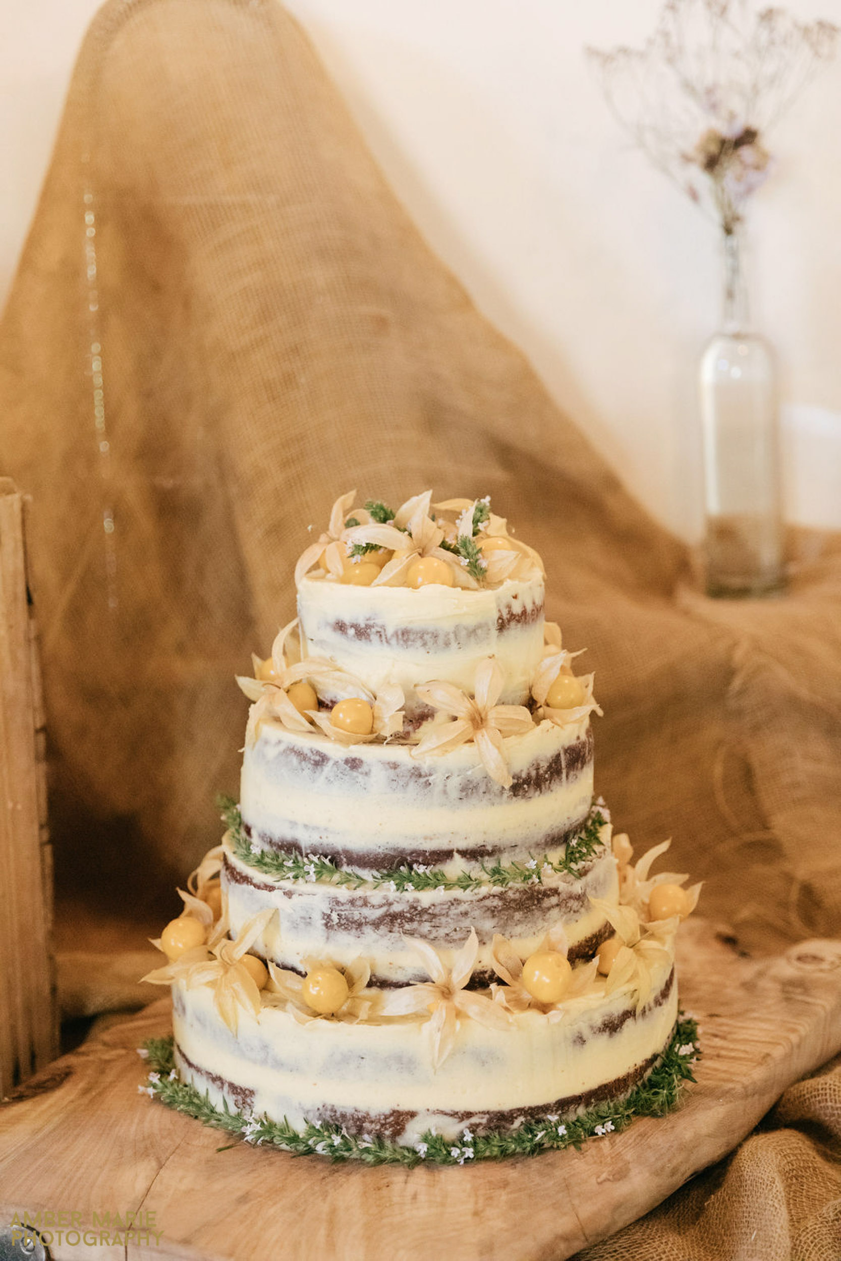 rustic wedding at river cottage