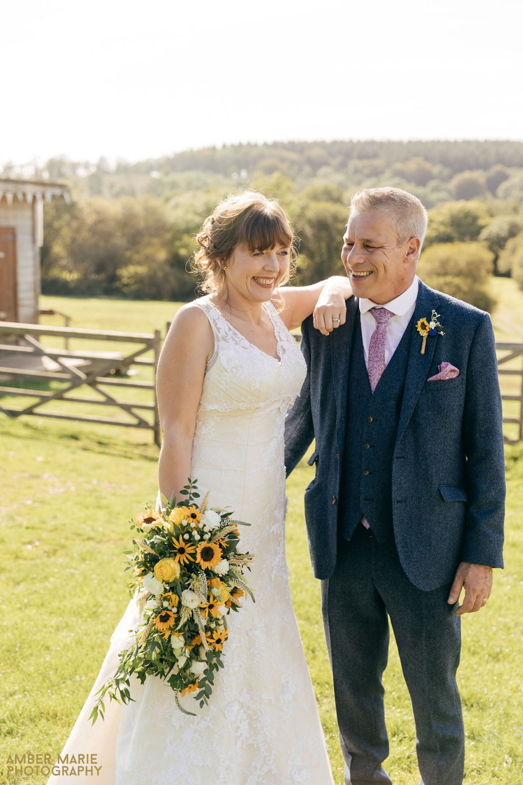 natural wedding photography at river cottage devon