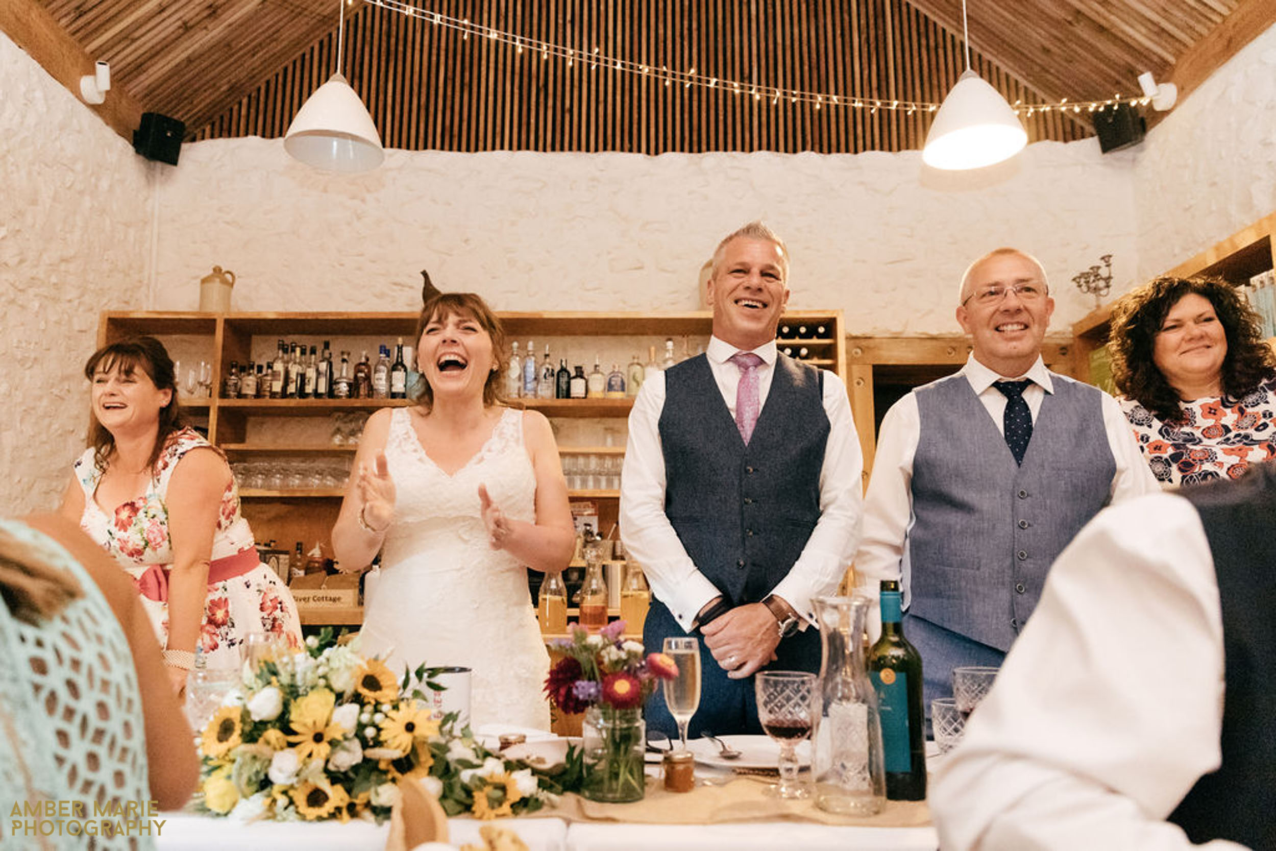 Summer wedding photography at river cottage