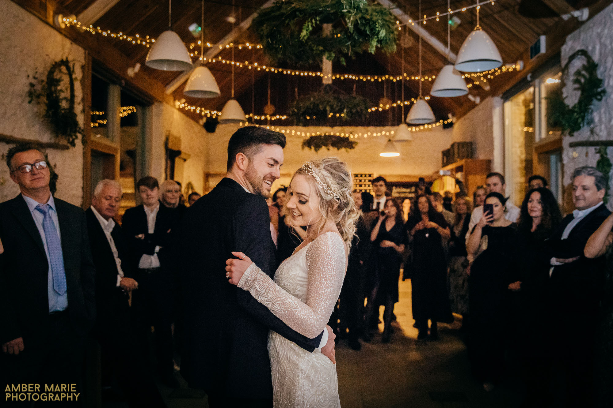 beautiful winter wedding photography