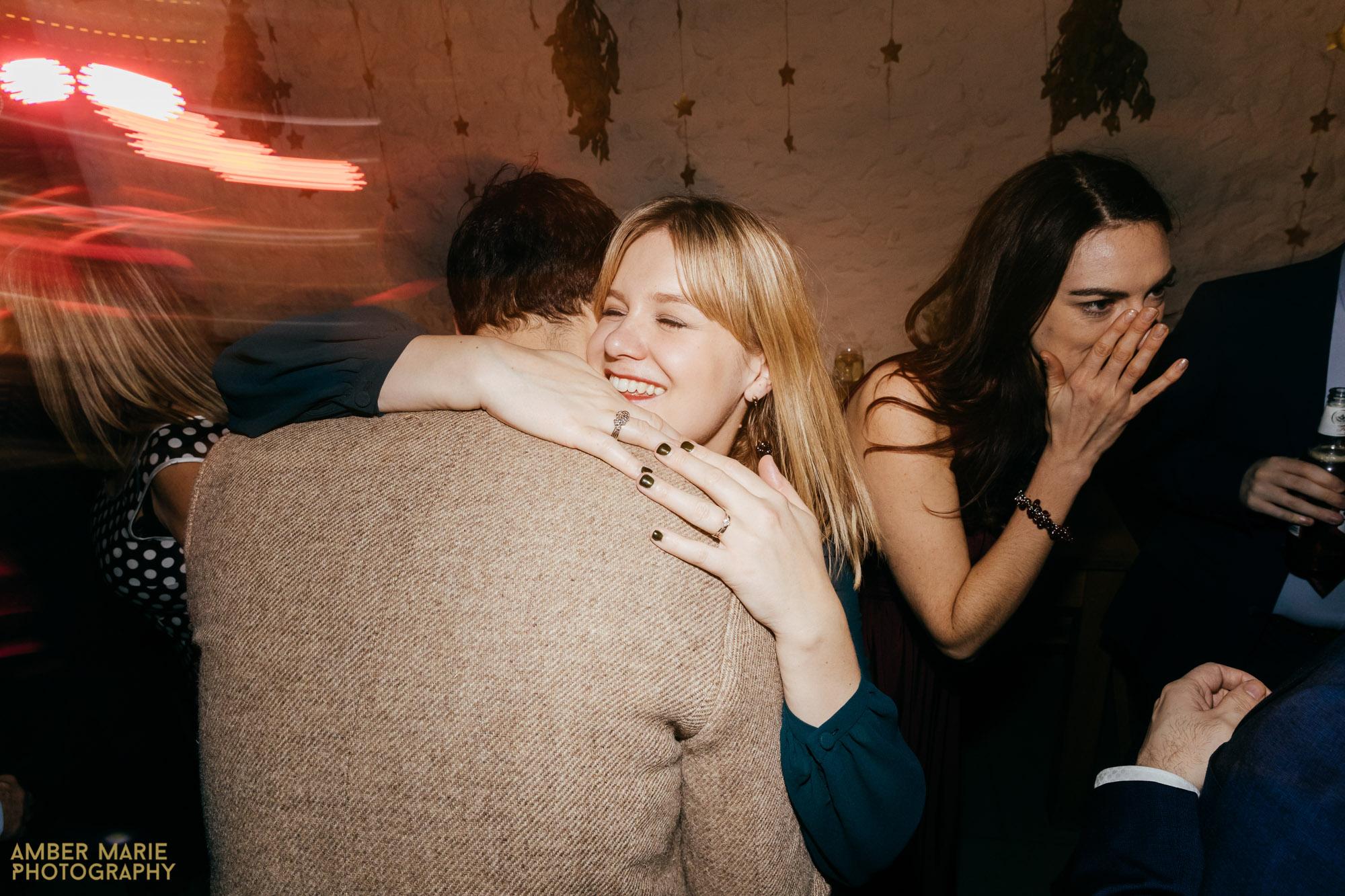 fun wedding party photos by creative wedding photographer