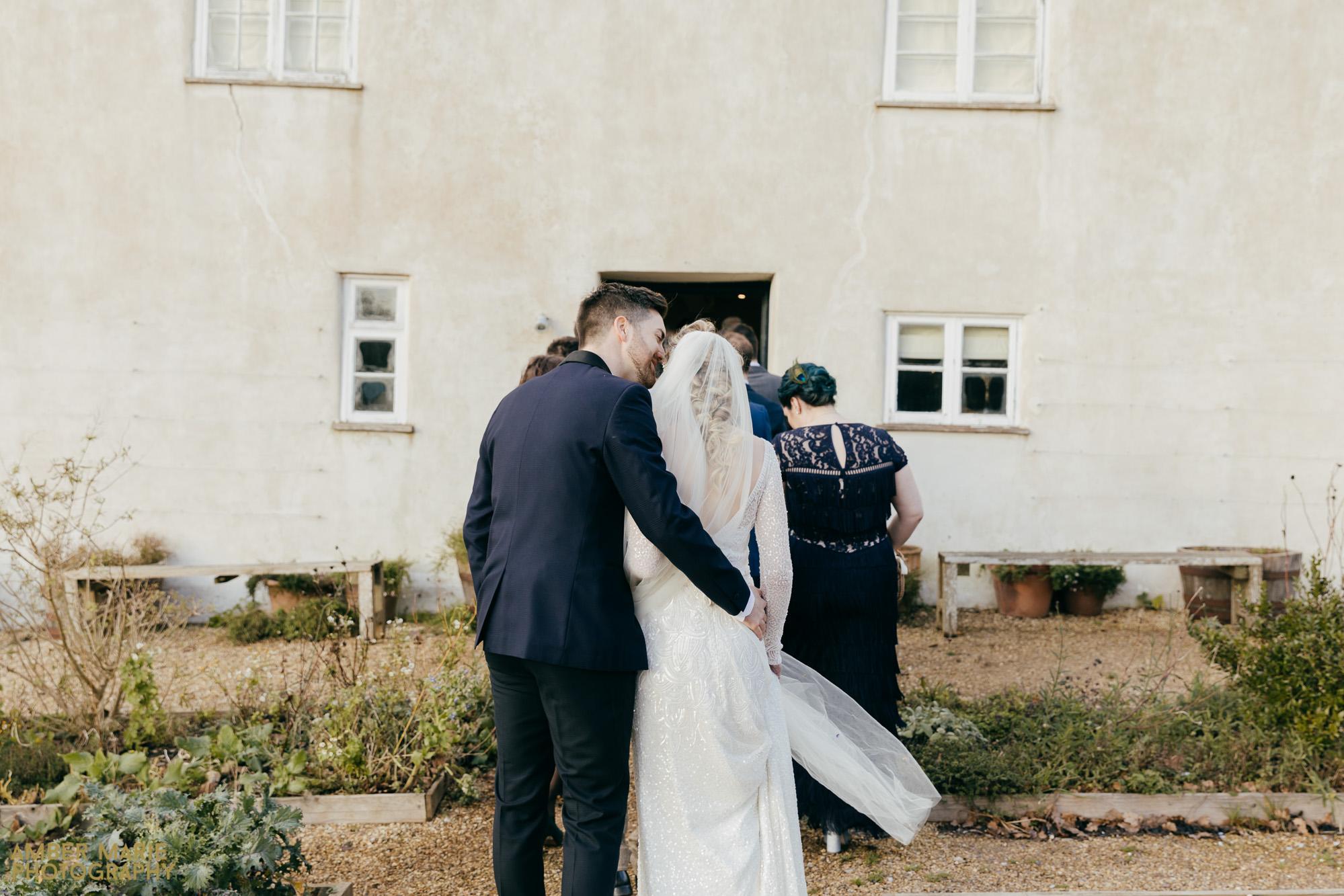 river cottage winter wedding