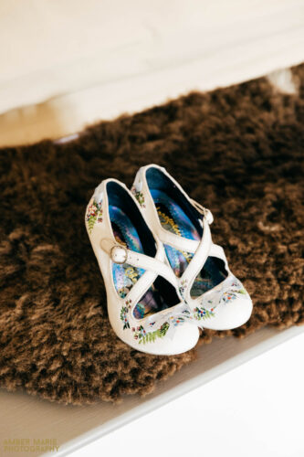 quirky wedding shoes bridal