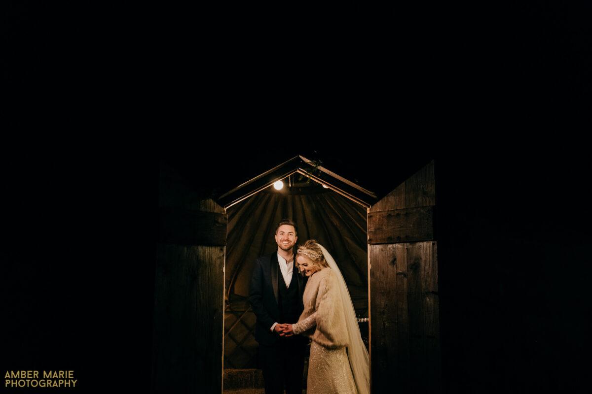 Natalie & Adam's River Cottage Winter Wedding