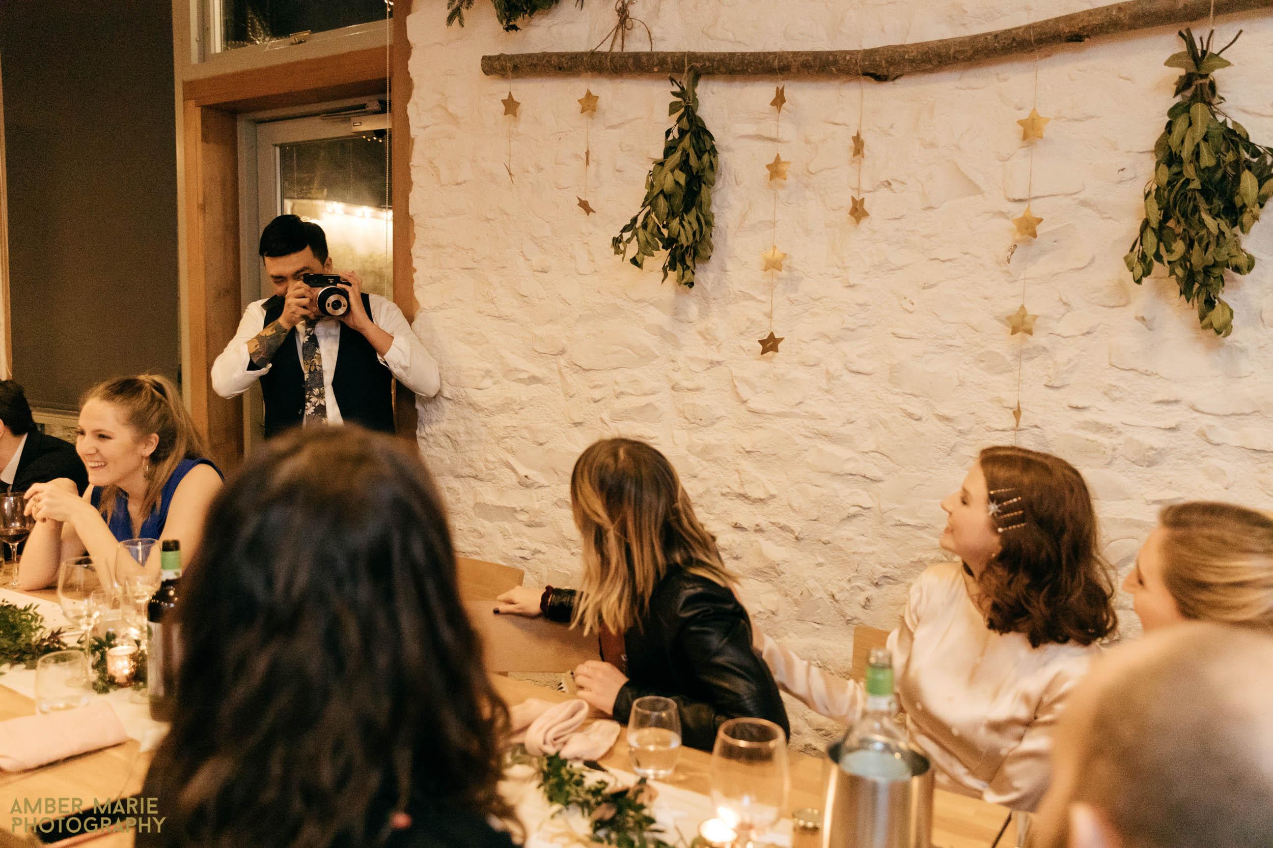 stylish winter wedding photographers