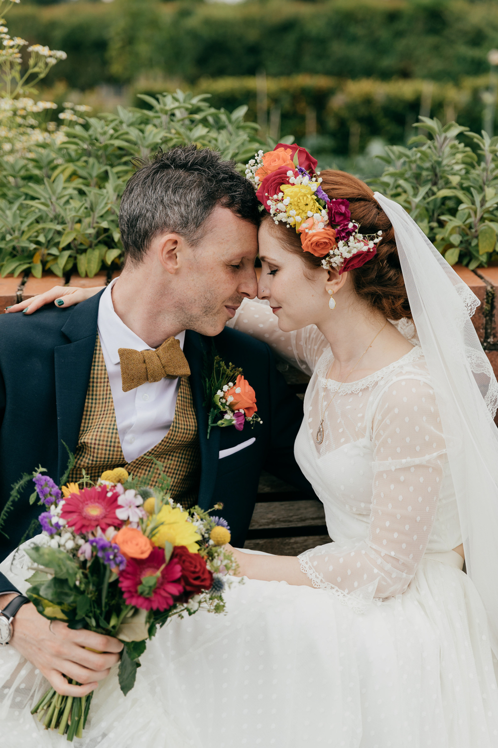vintage inspired wedding photos at bromwhich park farm