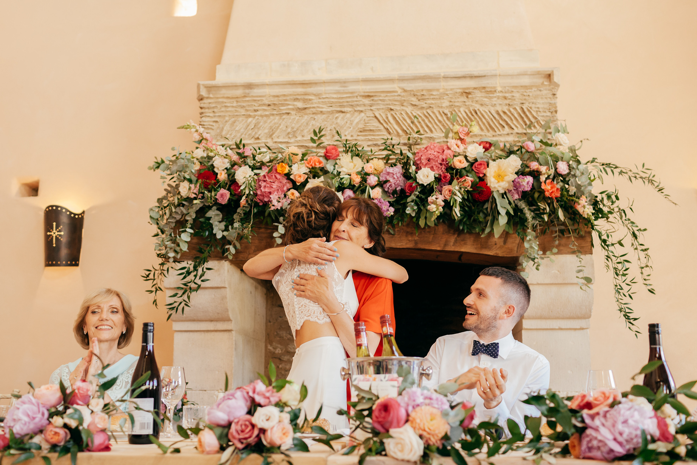 candid wedding photography at oxleaze barn